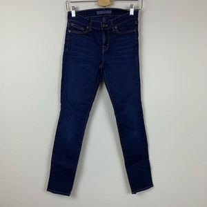 J Brand Skinny Leg Ignite Dark Blue Jeans Stretch